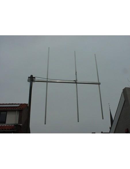 GB 3elm FM Yagi 105-105-3 MHz