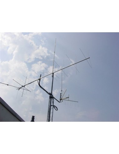 GB 2x9elm Cross Yagi 144-145MHz
