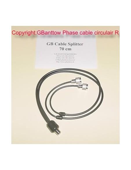 Satellite Polarity R Cable Cross Yagi