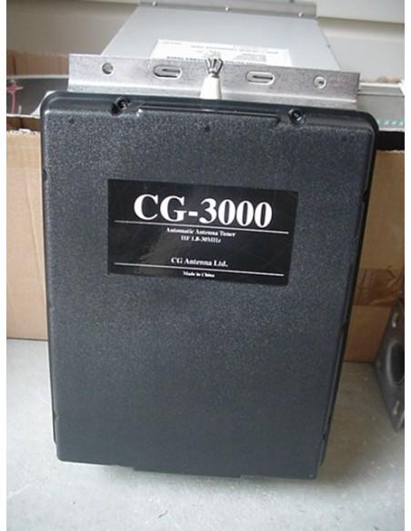 Auto HF Tuner CG 3000 -+ 14m Draad+ TX 60m band