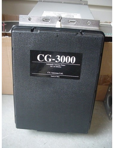 Auto HF Tuner CG 3000 + Control unit + draad+TX 60m band