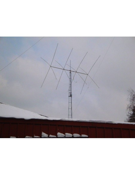 GB HF Quad 4elm 3band 10-15-20m