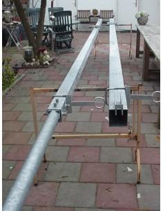 GB HD Slankmast 2x6m 100mm