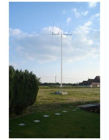 GB HD Slankmast 2x6m vrijstaand