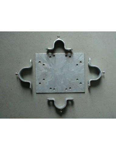 GB Galvanized Mountingplate