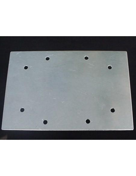 GB Mastplaat Aluminium