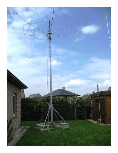 GB HD Slankmast 2x4m vrijstaand kantelbaar