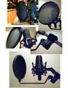Pop shield voor Microfoon