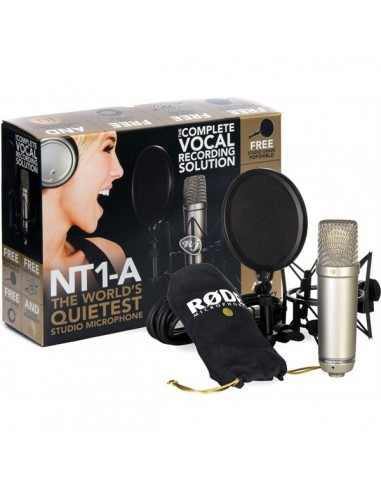 RODE Broadcast Studio Microphone NT1-A