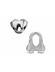 GB Steel Cable clamp 5mm