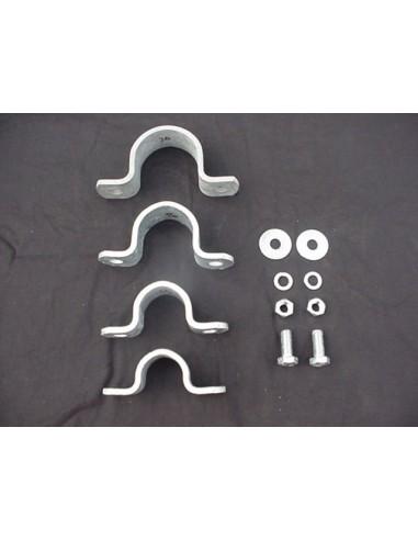 GB Galvanized HD Tube clamps