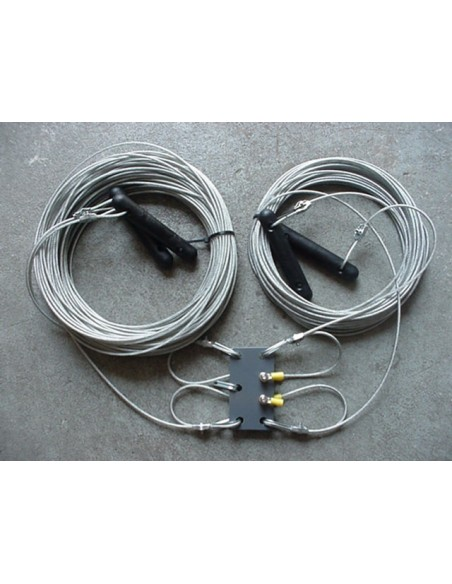 GB DD 60-40m  Dipole - ladderline-