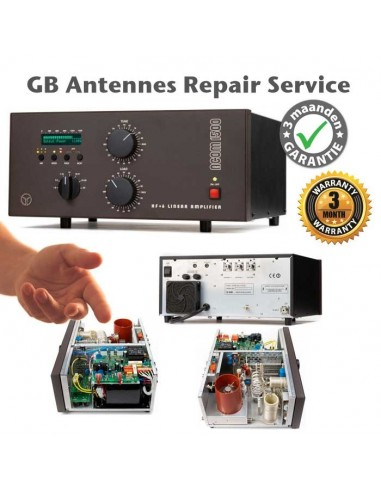 Repair of audio products and amplifiers