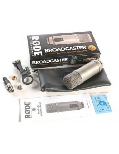 GB Audio Set met Broadcaster
