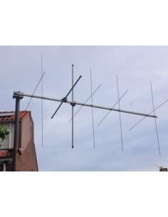 GB 2x5elm Kruis Yagi 144-145-146 Mhz
