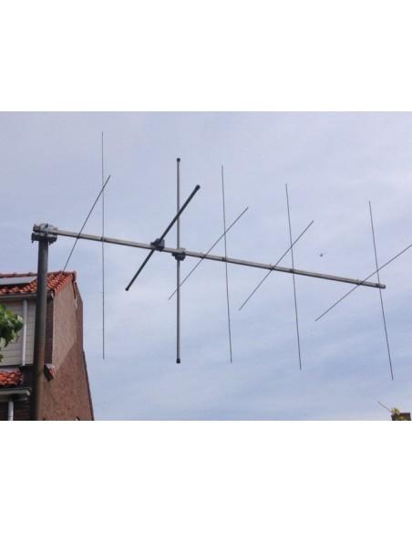 GB 2x5elm Cross Yagi 144-146-146 MHz