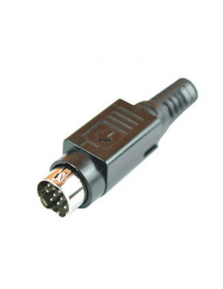 Acom 10 Pin Mini Din TX Connector