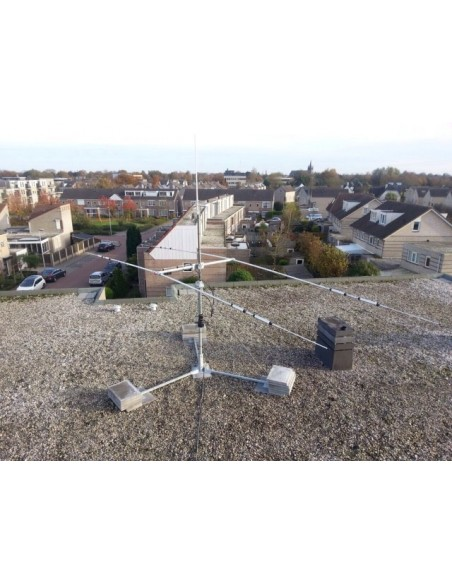 GB Steel Frame for flat roof mounting 3 leg