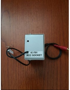 Schakel box Icom IC-756 voor Acom