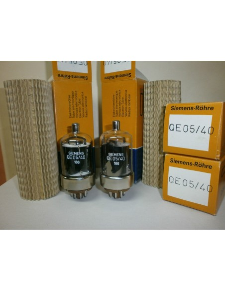 Siemens Transmitting Tubes 6146B QE5/40  MP