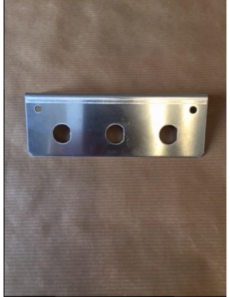 Groundbar for 3 Connectors