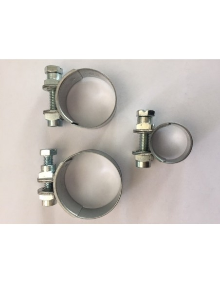 Heavy Duty pipe clamps for Mobil Alu-Towers