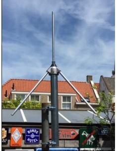 GP 1/4 golf voor 108-136 MHz