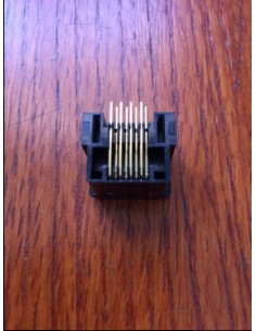 Yaesu 8 Pin Western Mike Connector