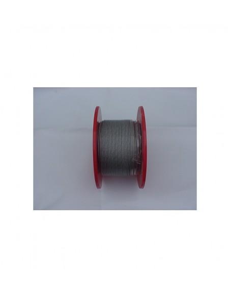 Afspandraad 4mm Staal met PVC mantel