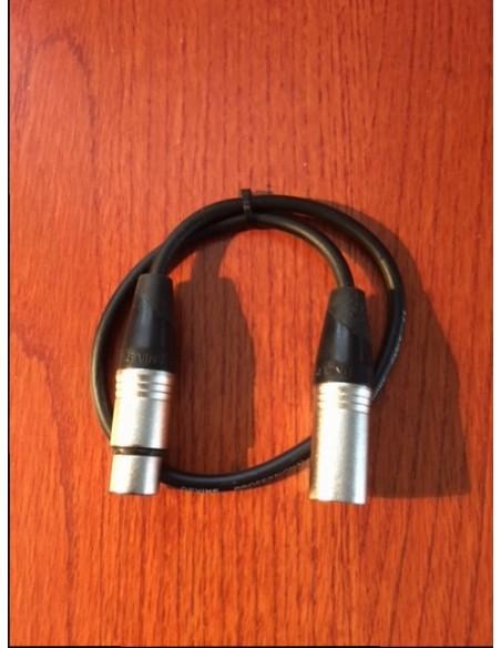 XLR-XLR Microphone cable 0,50m