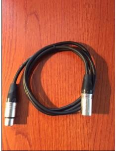XLR-XLR Microfoon kabel 1,00m