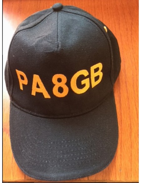 Cap with Callsign into different colour