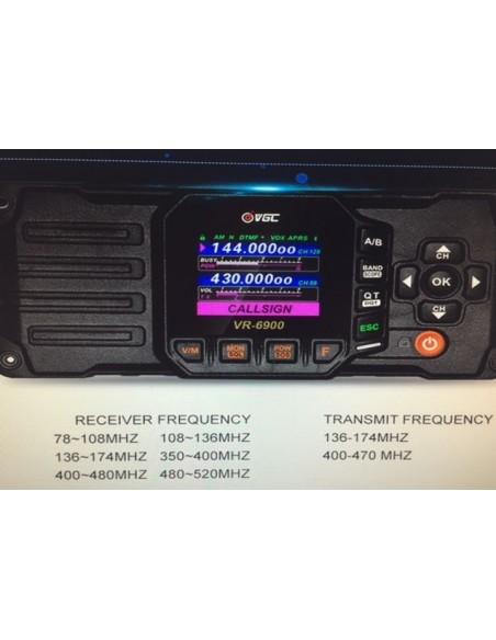 VR-6000 VHF/UHF Transceiver