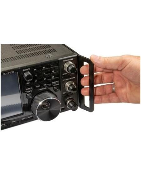 IC-7600/7610 Beschermplaat 2x voor zijkant met handgreep gebogen model