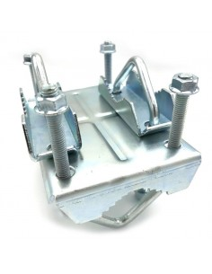 Mounting tube clamp steel...