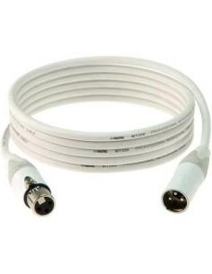Witte XLR Audio kabel met...