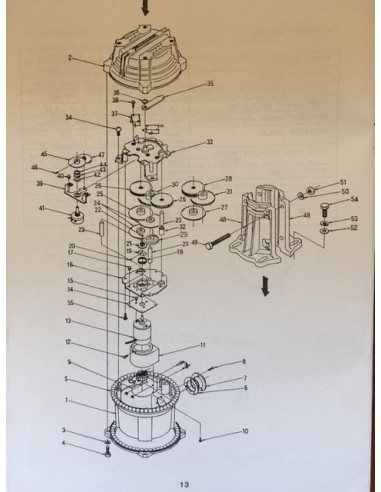 Yaesu Rotor onderdelen