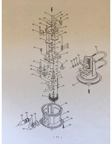 Yaesu Rotor Parts 450C/650C