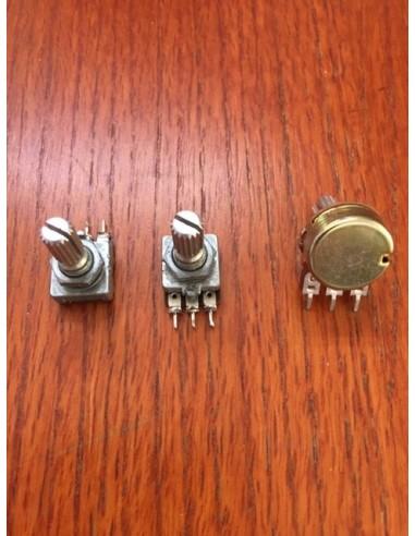 Potmeters Symetrix 528E